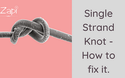 Single Strand Knots on Type 4 Hair – Preventive Measures.