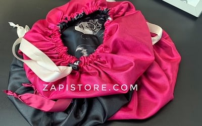 Adjustable Silk Lined Hair Bonnet is good for your hair.